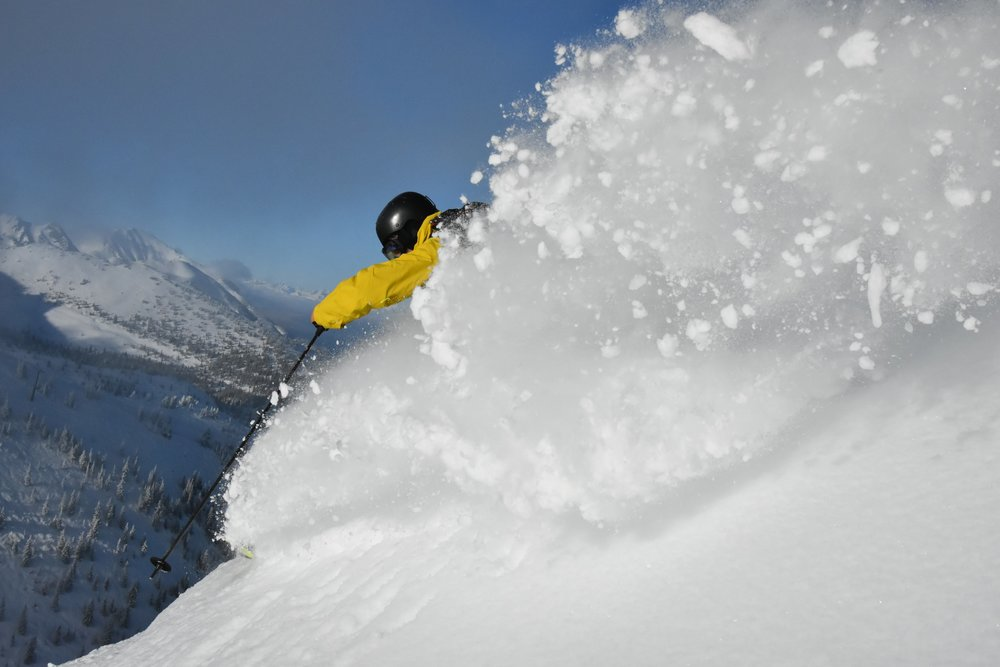 By mid-January 2016, over 13 feet of snow has fallen at Kicking Horse. - ©Antoine Caron Cabana