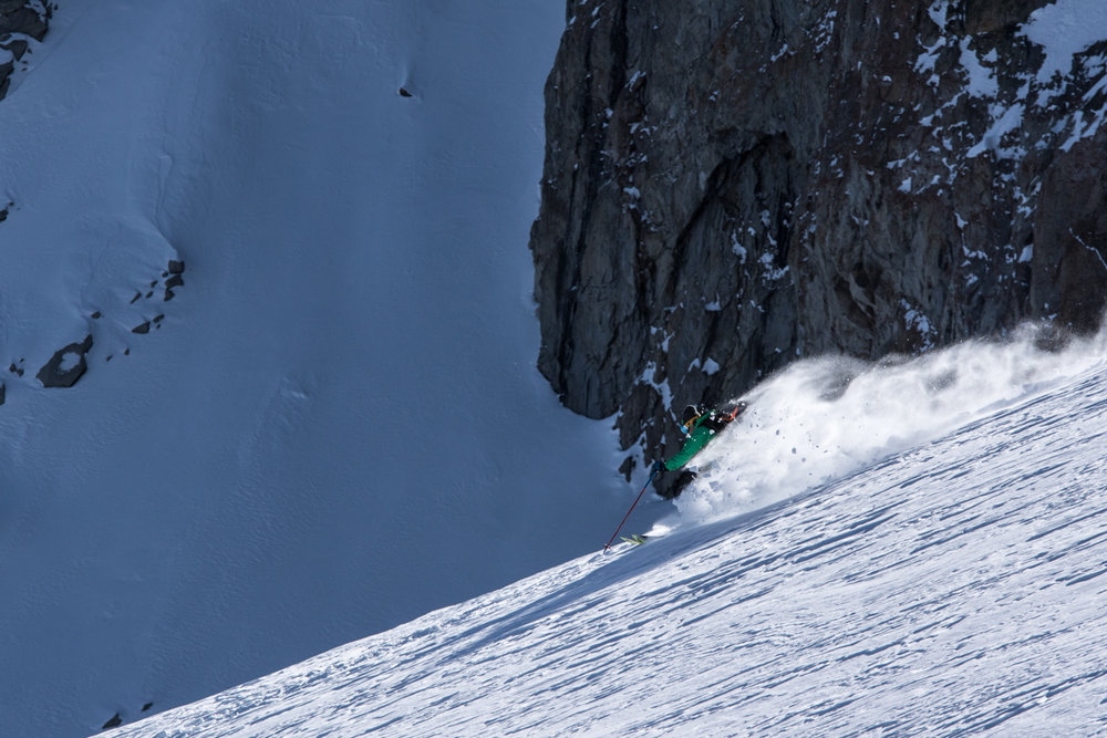 June backcountry bennies. - ©Liam Doran