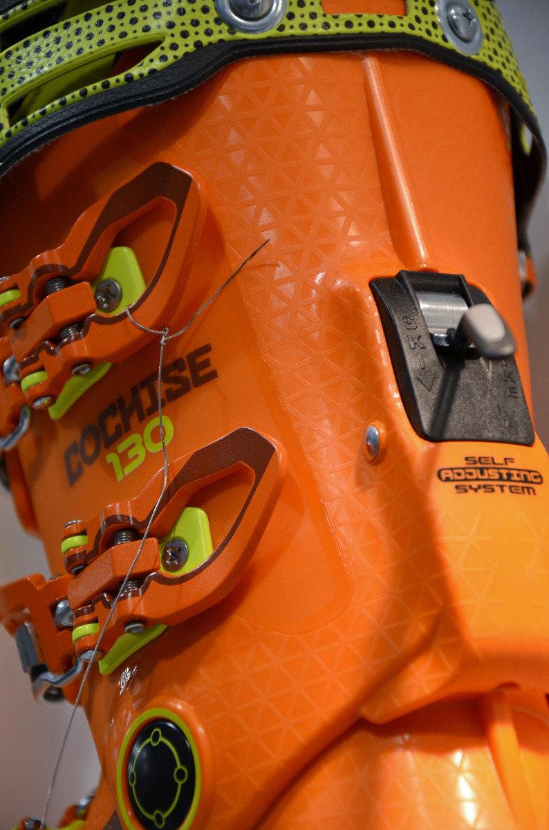 Walk-Ski switch op de Tecnica Cochise - ©Skiinfo