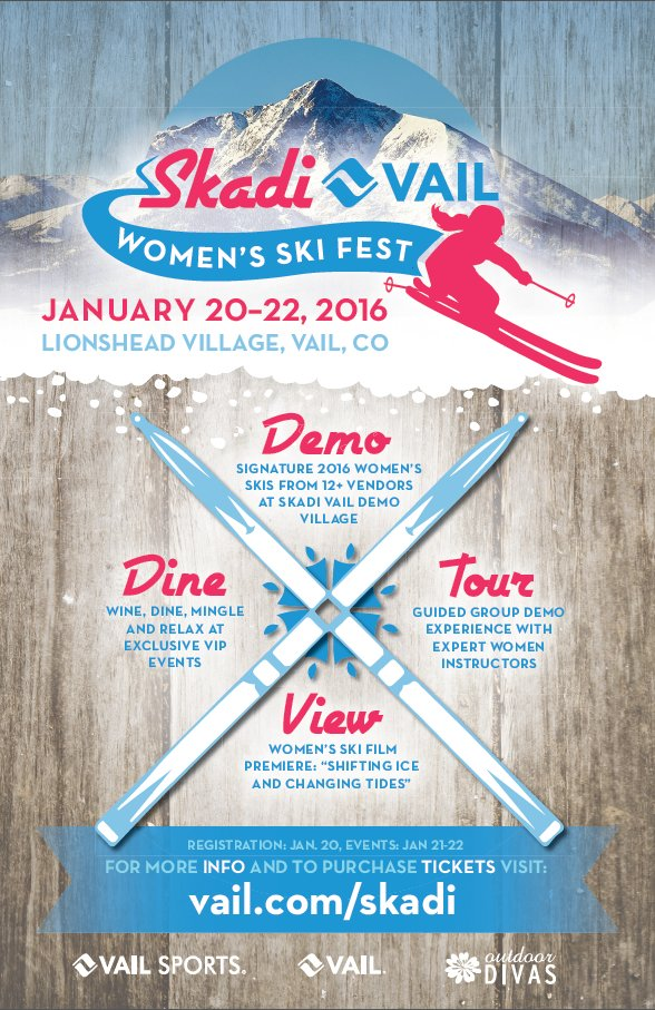 SKADI Fest in Vail is a first-of-its kind event celebrating the Norse goddess of winter.  - ©Vail