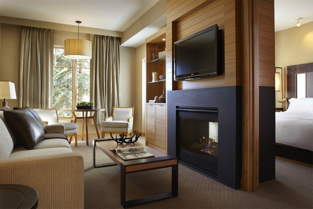 A room at the Viceroy Hotel, Snowmass, CO.