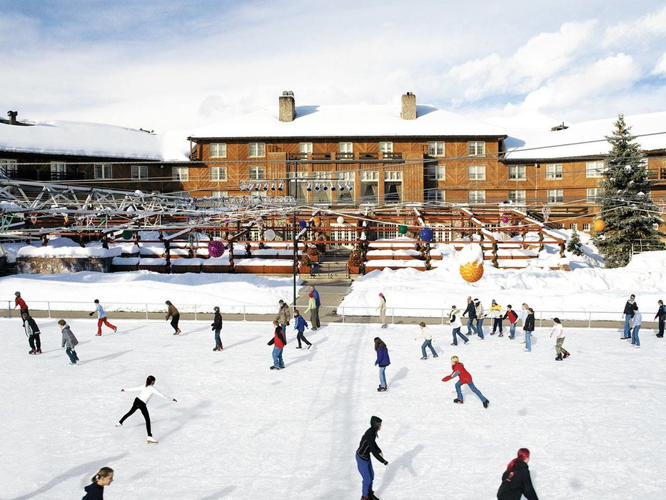 Sun Valley's ice rink is famous for its world-class shows  - ©Sun Valley Idaho