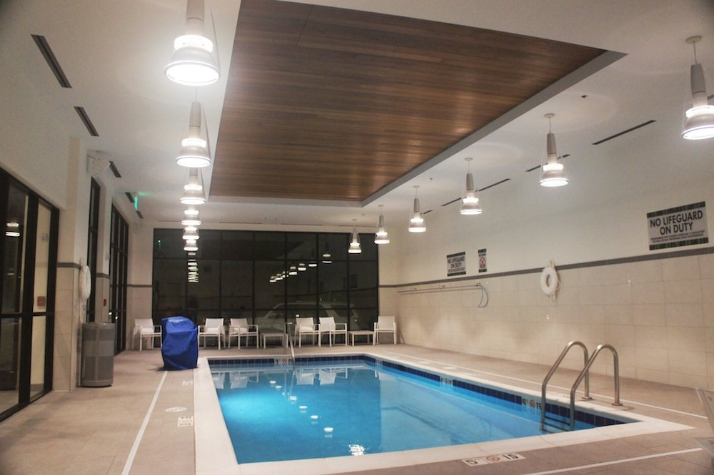 The Element Bozeman is an upscale lodging option complete with a saltwater pool and workout facility. - ©James Robles