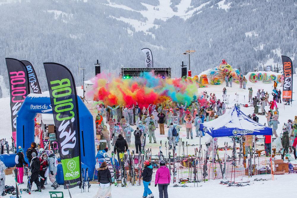 Skicolor Les Gets 12th March 2016 - ©Les Gets Service Presse
