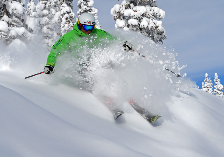 Sunshine and powder at Steamboat in Colorado. - ©Steamboat Resort