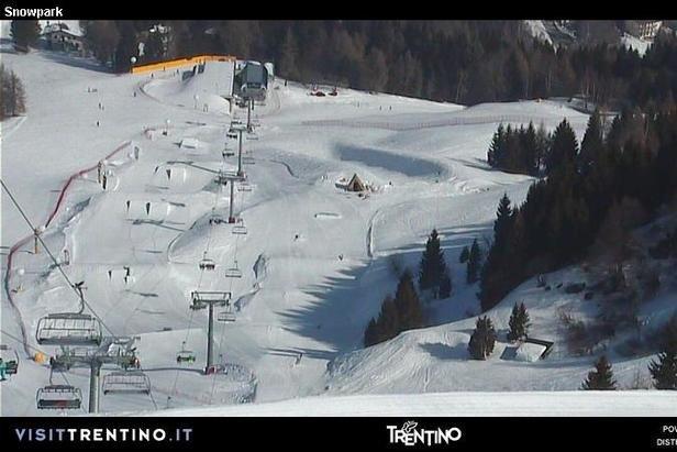 Monte Bondone - ©Monte Bondone webcam