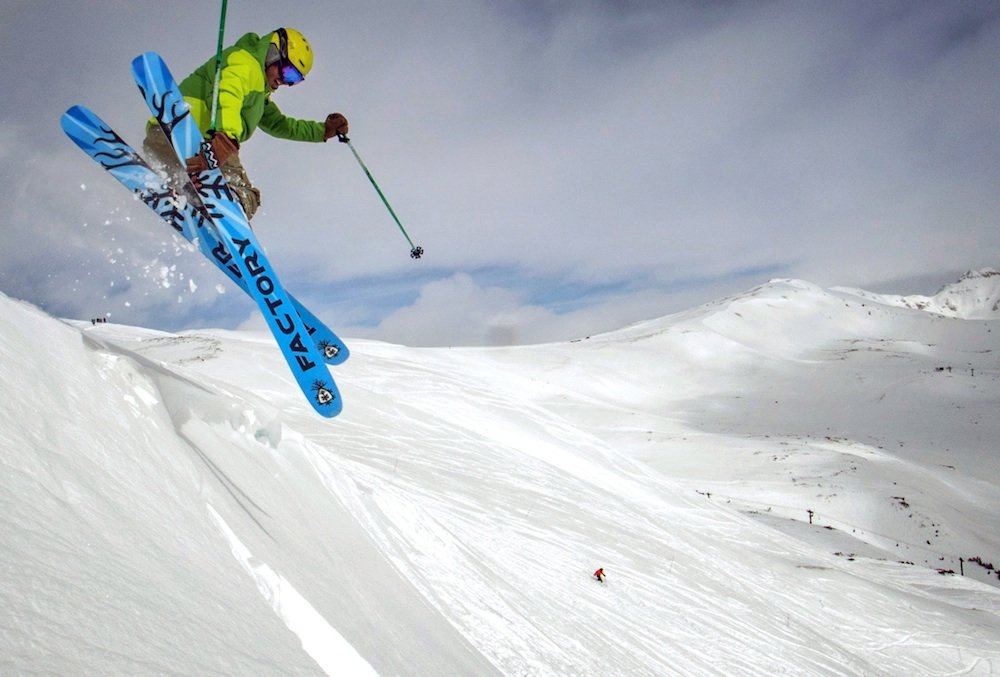 Style points on the white carpet - ©Loveland Ski Area