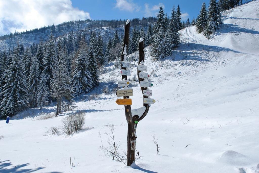 Fresh snow in ski resort Čertovica - ©facebook Čertovica STIV