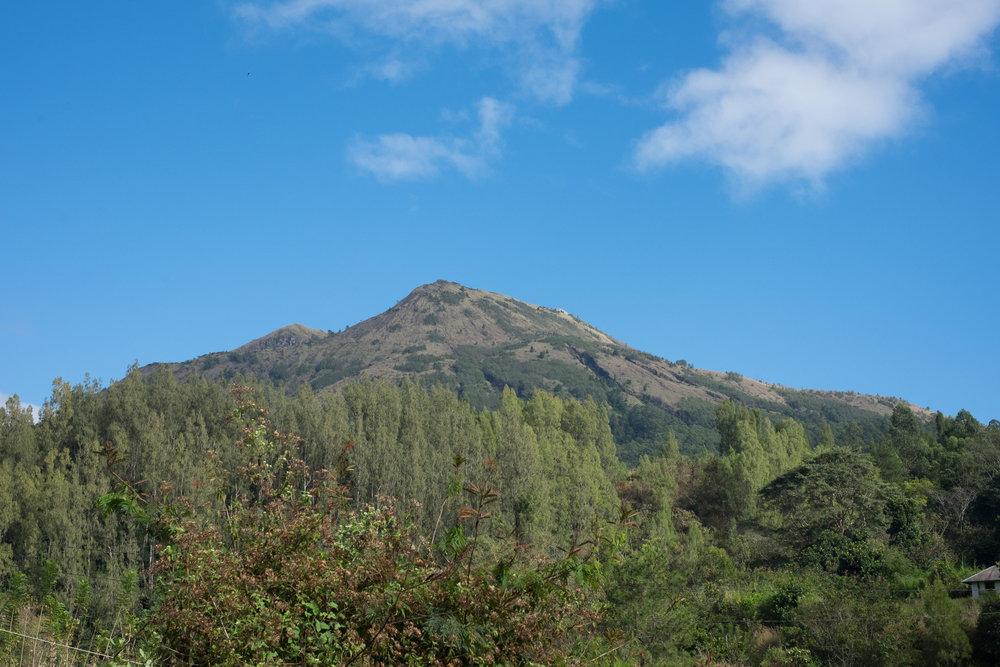 Der aktive Vulkan Batur war Ziel unseres nächtlichen Ausflugs - ©Sebastian Lindemeyer