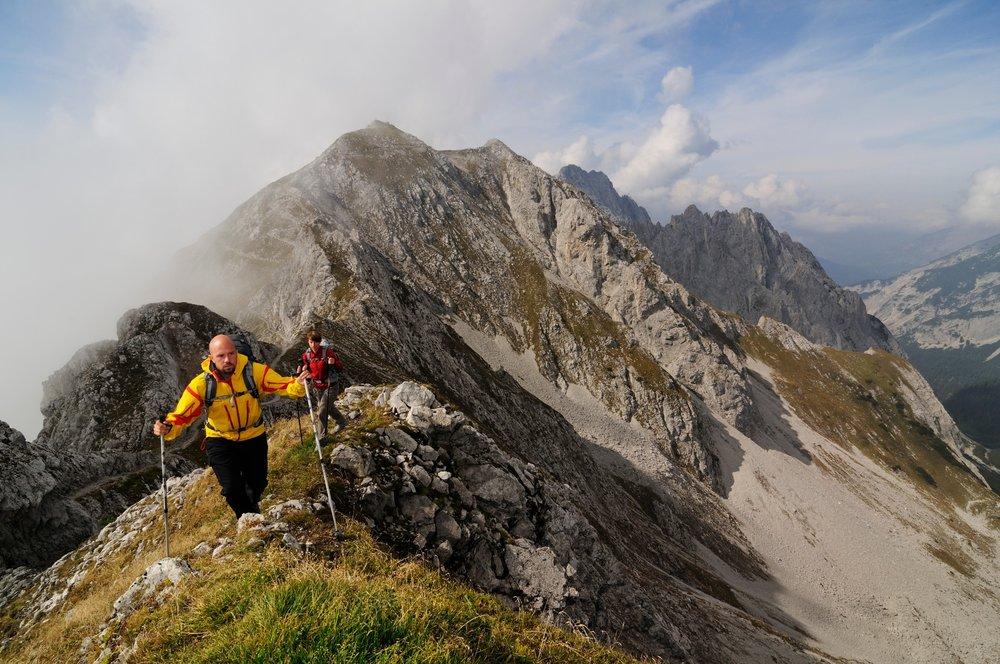 Man trifft auch einige andere Wanderer auf dem beliebten Goetheweg - ©Norbert Eisele-Hein