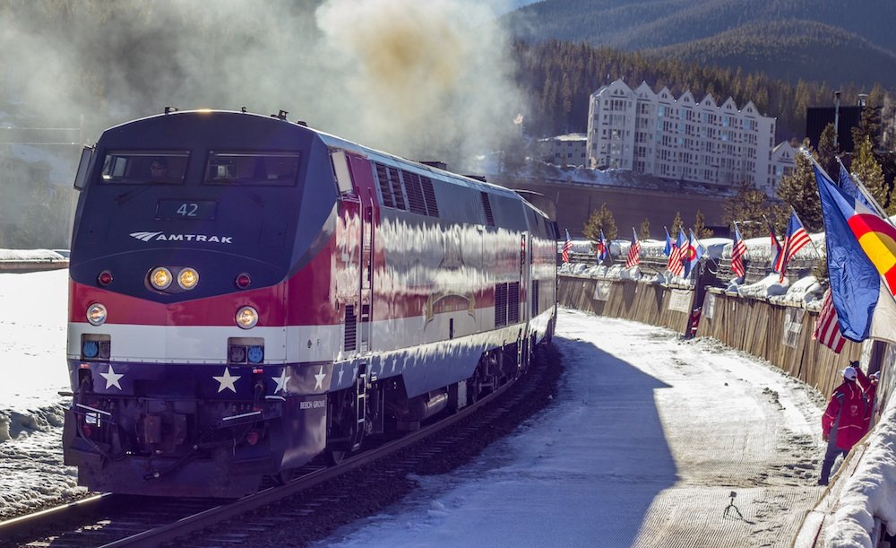 In partnership with Union Pacific, Amtrak will be offering adult tickets for as low as $39 each way. - ©Carl Frey/Winter Park Resort
