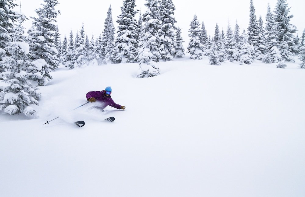 Tamarack powder day - ©Tamarack powder