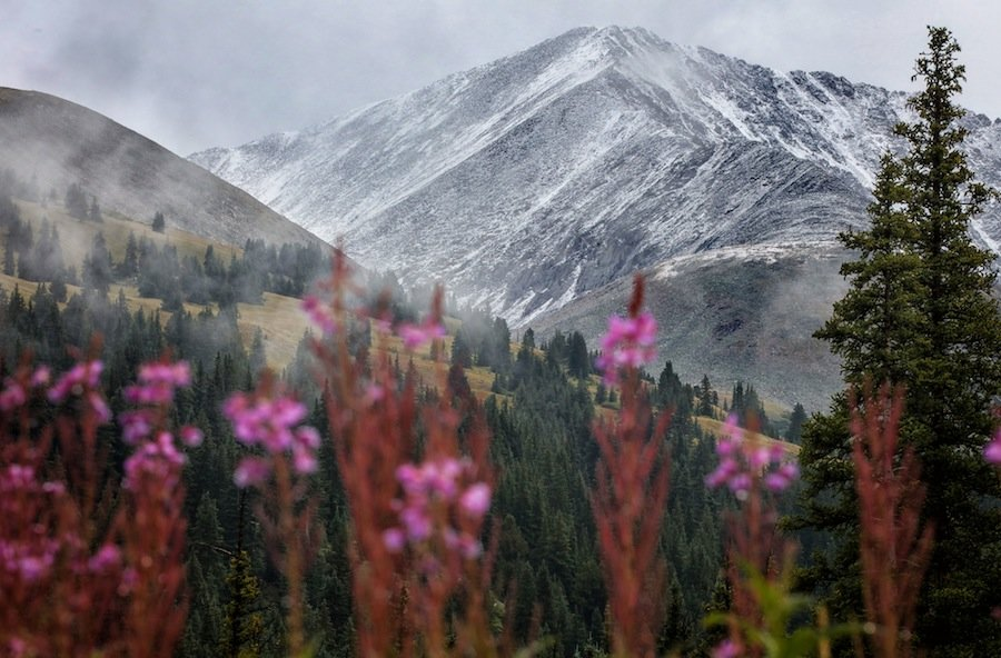 Winter is close at Copper Mountain. - ©Tripp Fay, Copper Mountain Resort.