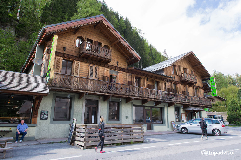 Le vert h tel chamonix mont blanc for Hotels chamonix