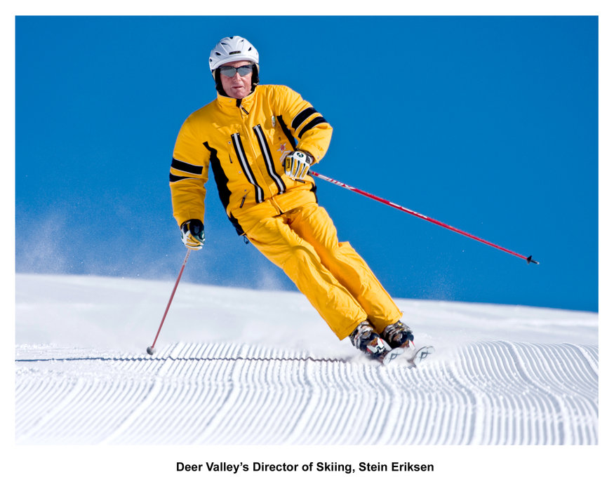 Deer Valley's Director of Skiing, Stein Eriksen