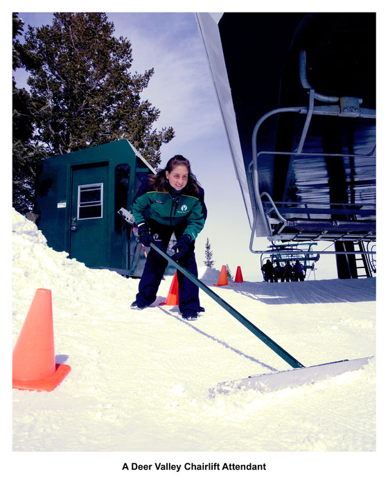 A Deer Valley Chairlift Attendant