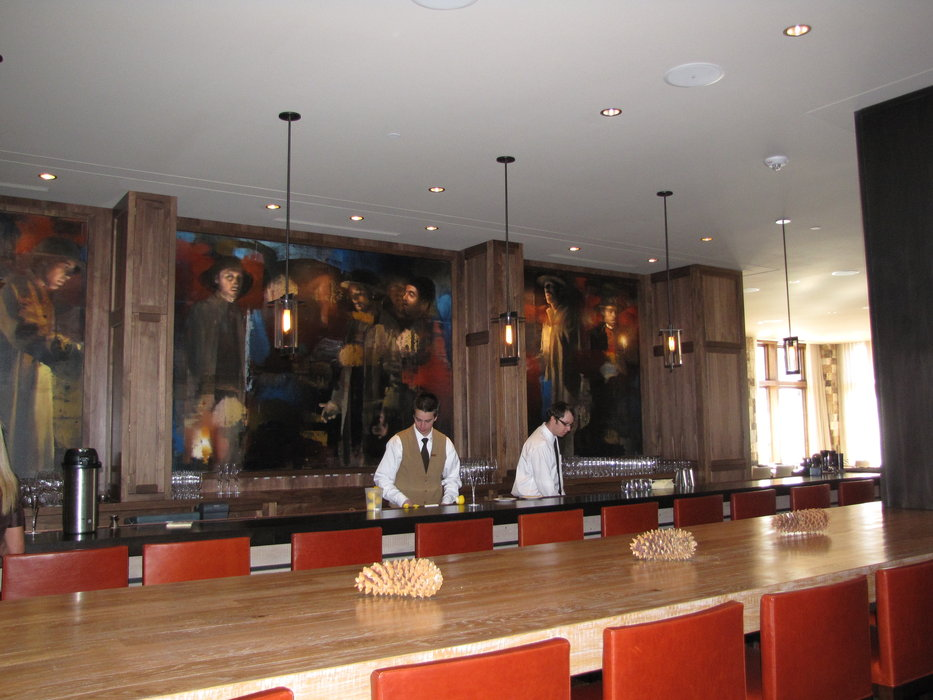 Interior of St Regis Hotel, Deer Valley, Utah