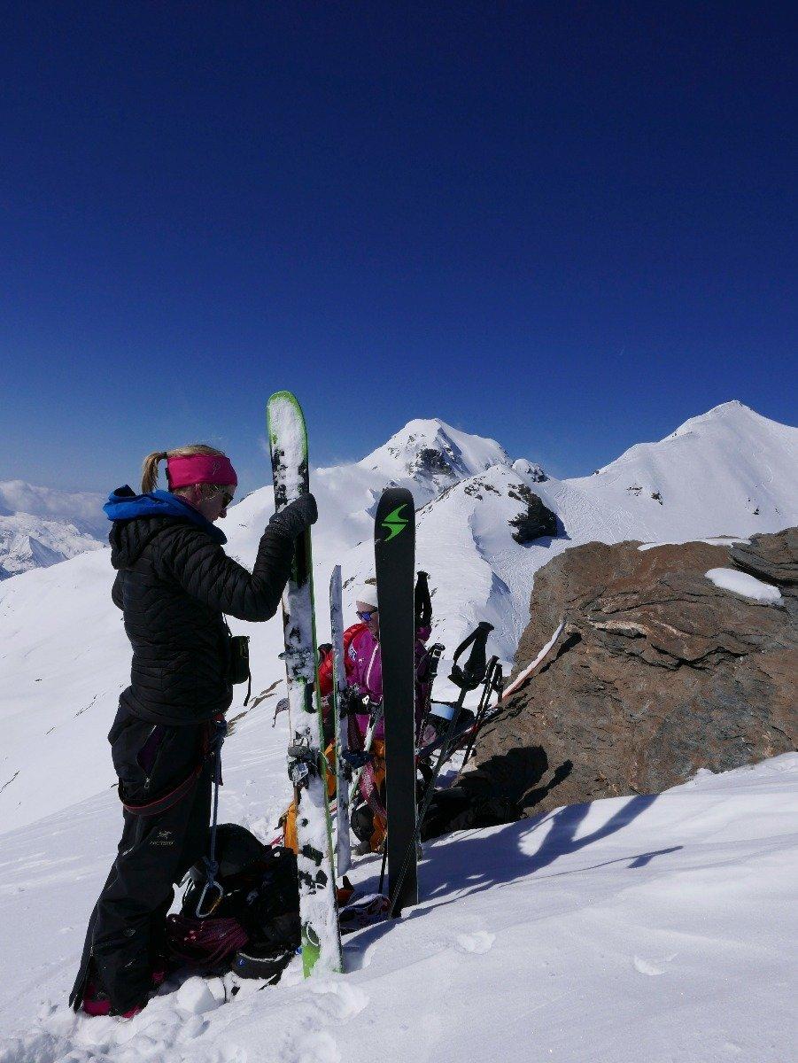 På La Luette (3548 moh) - ©Mattias Erlandson