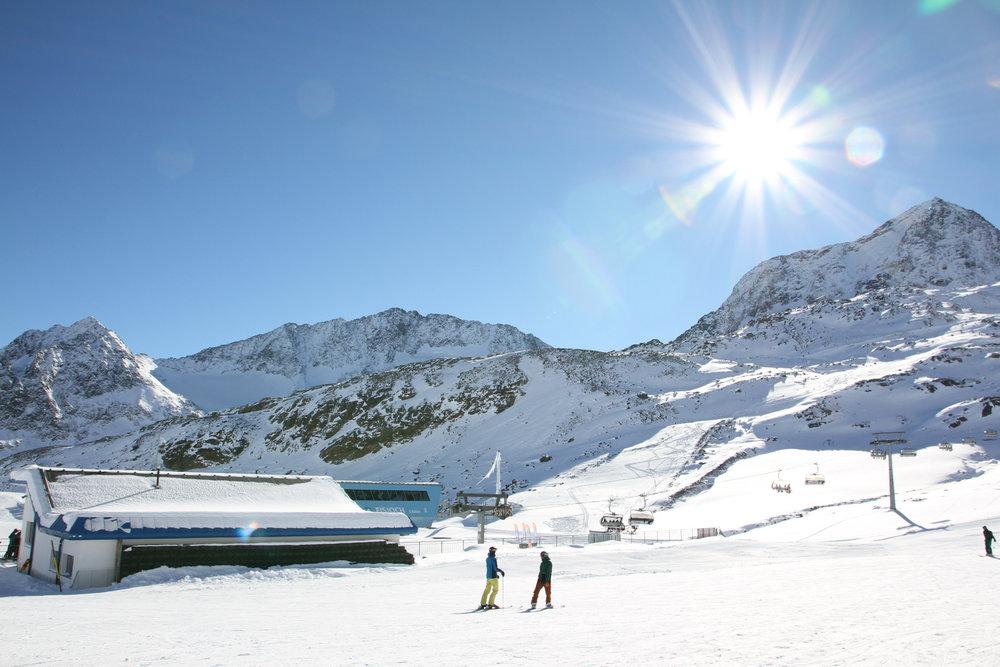 Impressionen vom Stubaier Gletscher (13./14. November 2016) - ©Skiinfo