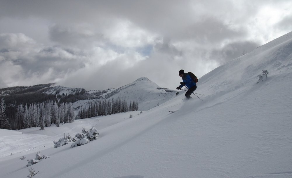 Wolf Creek Ski Area looking ready just in time for turkey! - ©Rosanne H. Pitcher courtesy of the Wolf Creek Ski Area