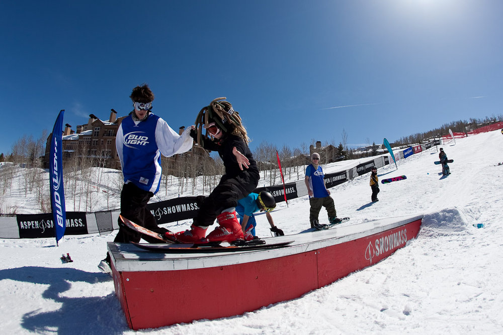 Aspen Boot Camp for young snowboarders