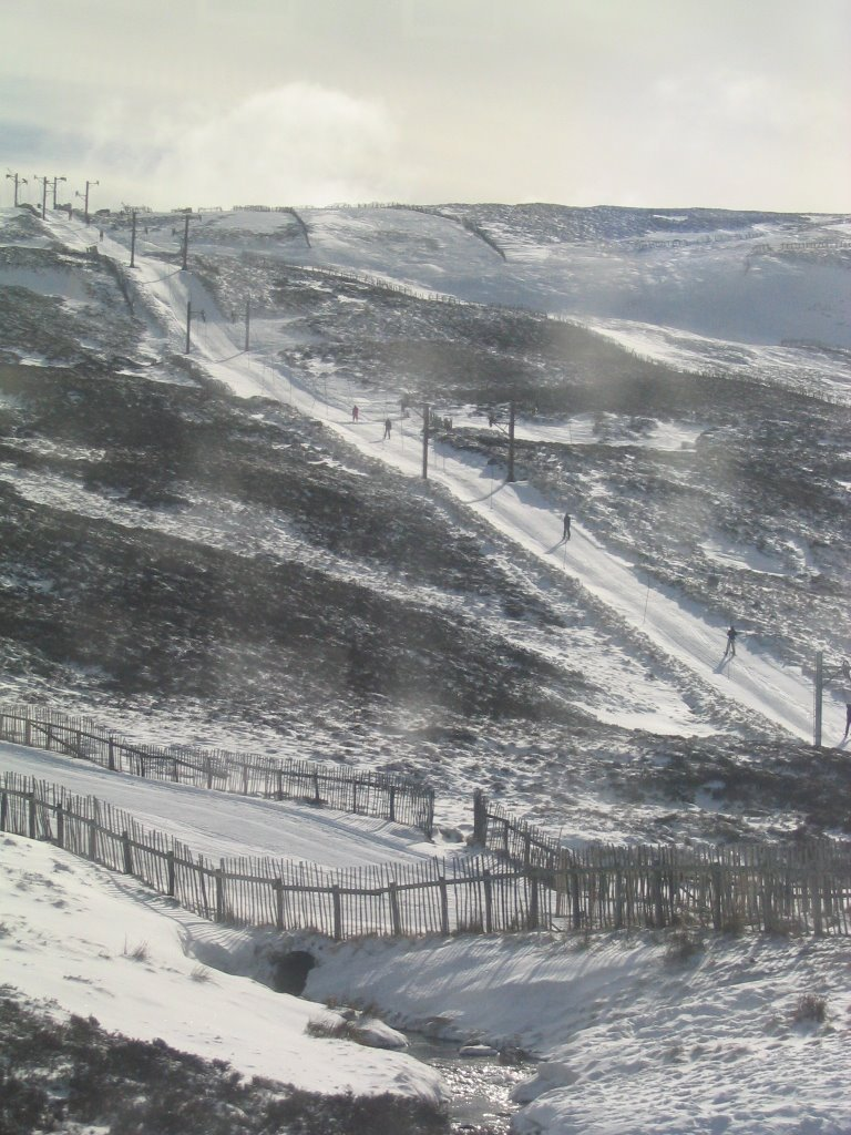 The slopes of Glenshee, Scotland.