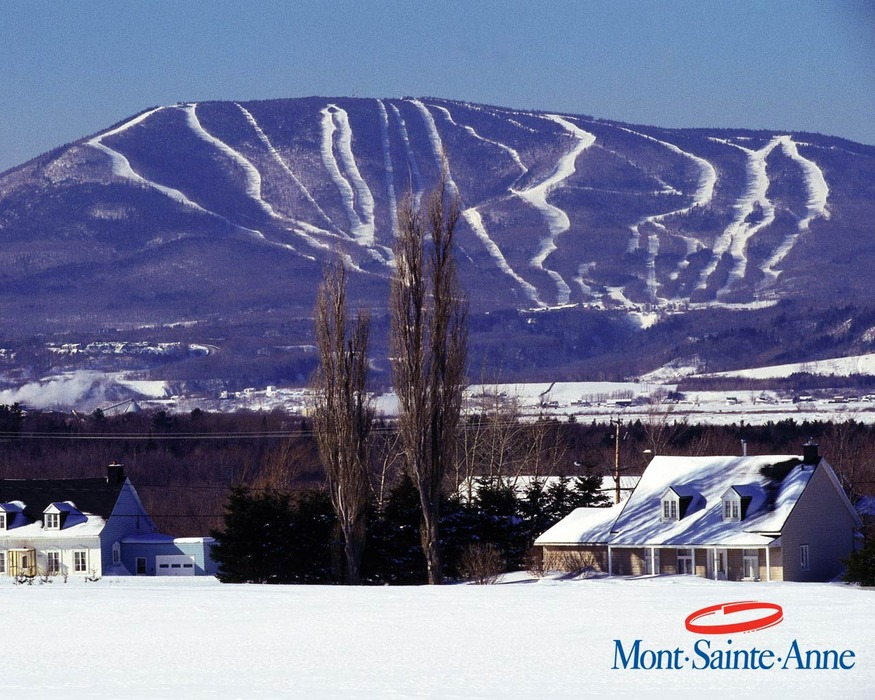 A view of Mont St Anne