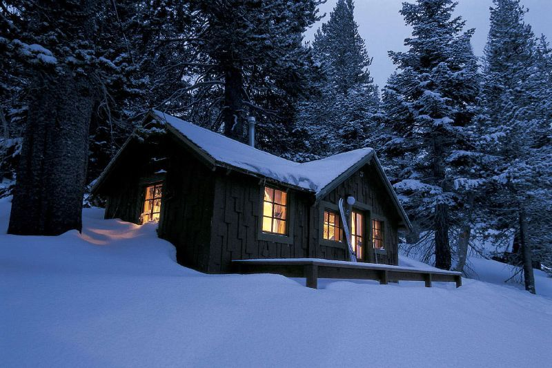 Lodge in Mammoth, California