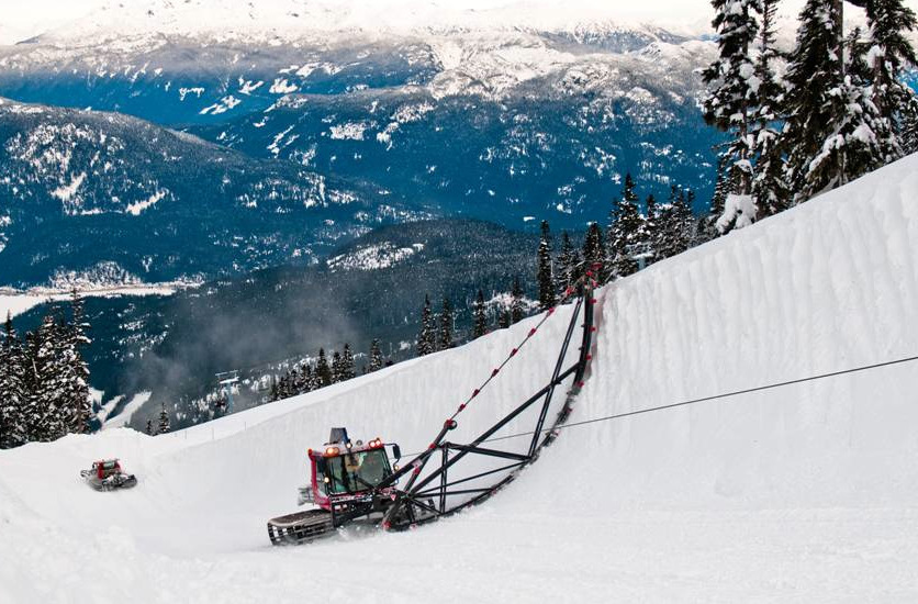 Whistler Blackcomb's new Global Pipe now sports 22-foot walls, the new standard since the 2010 Olympics. It is open to the public.