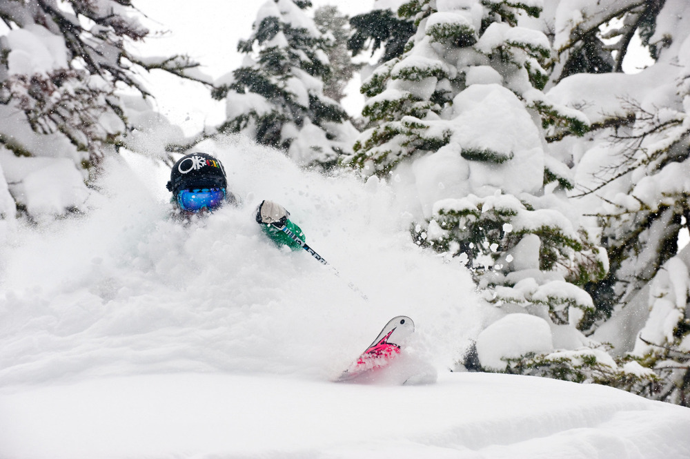 Squaw Valley USA powder Photo: Keoki Flagg