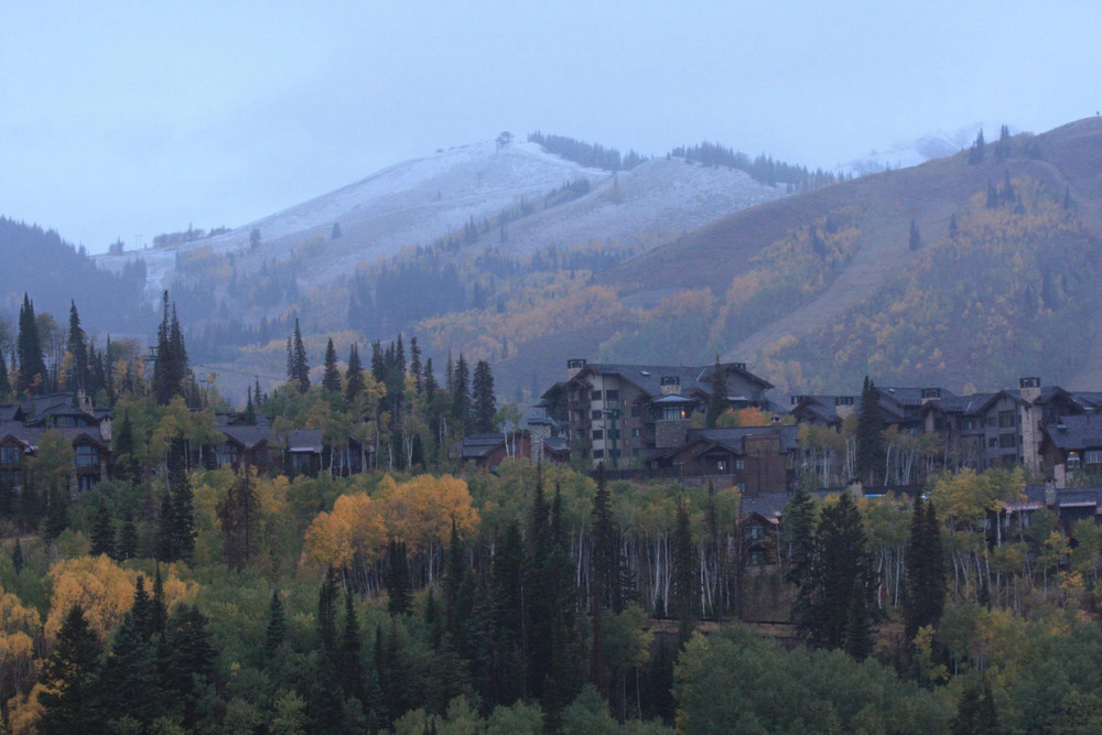 September 25th snow at Deer Valley
