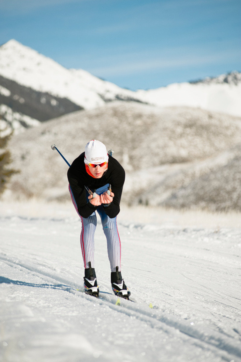 Cross country skiing in Sun Valley 