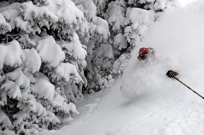 You can't always trust radar when it comes to big dumps in Steamboat. - ©Steamboat