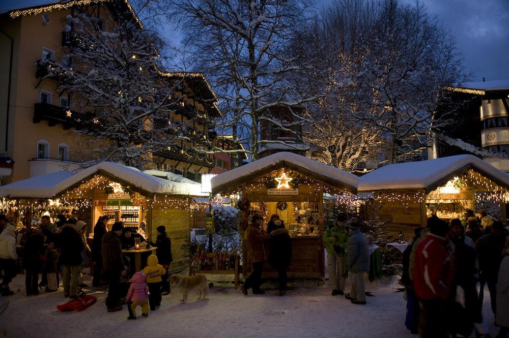 Seefeld Christmas market.