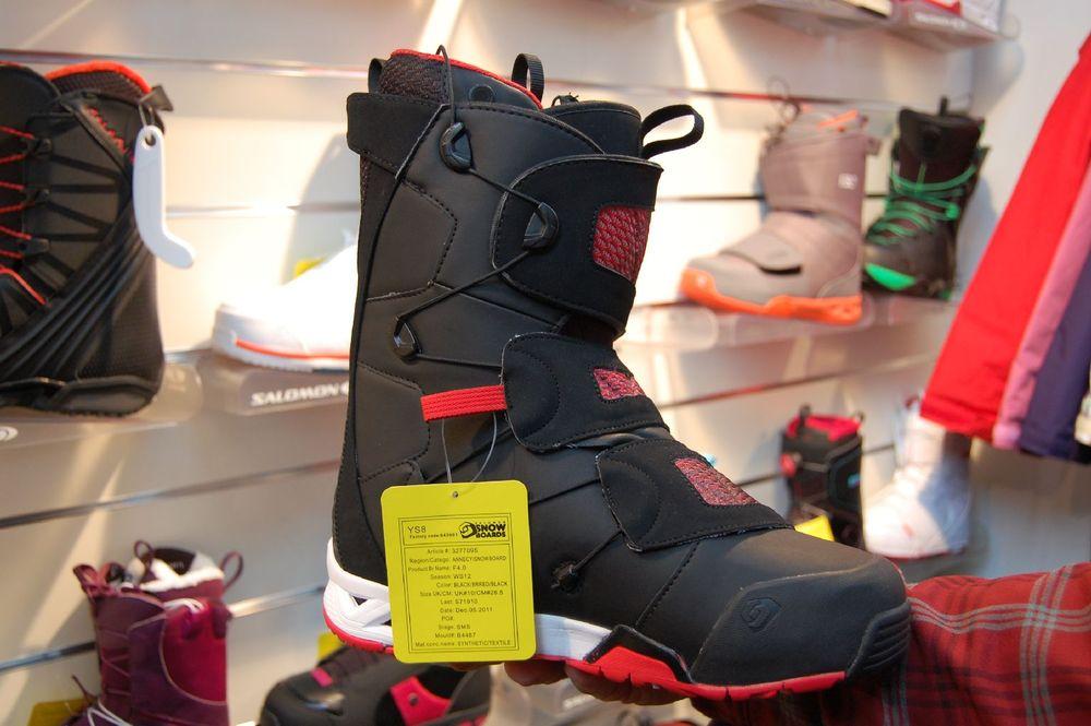 snowboard boots - ©Szymon Kalinowski