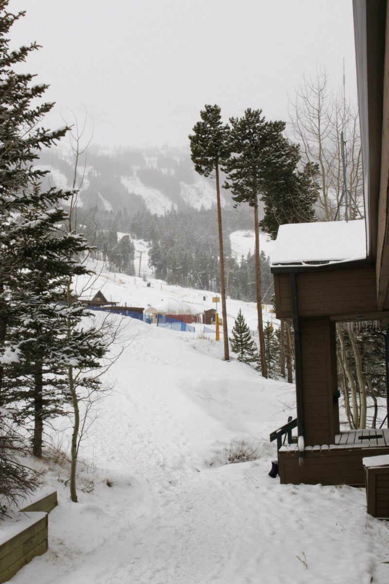 Breckenridge had a snowy opening weekend thanks to Winter Storm Brutus. Photo: Breckenridge/Facebook
