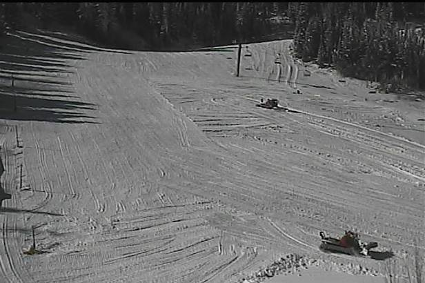 Winter Park received a foot of snow from Winter Storm Brutus and will open Nov. 14.