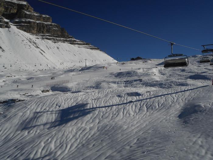 Ski opening in Madonna di Campiglio, Nov 17, 2012