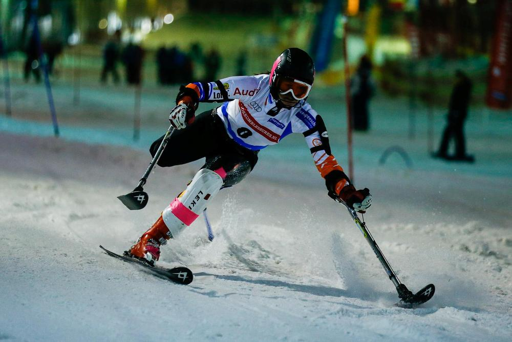 IPCAS-race alpine in SnowWorld Landgraaf
