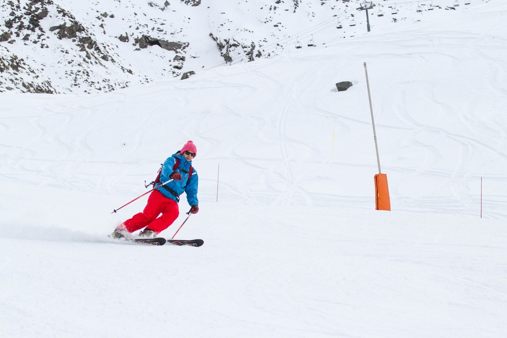 First skiers in Val Thorens, 2012/13