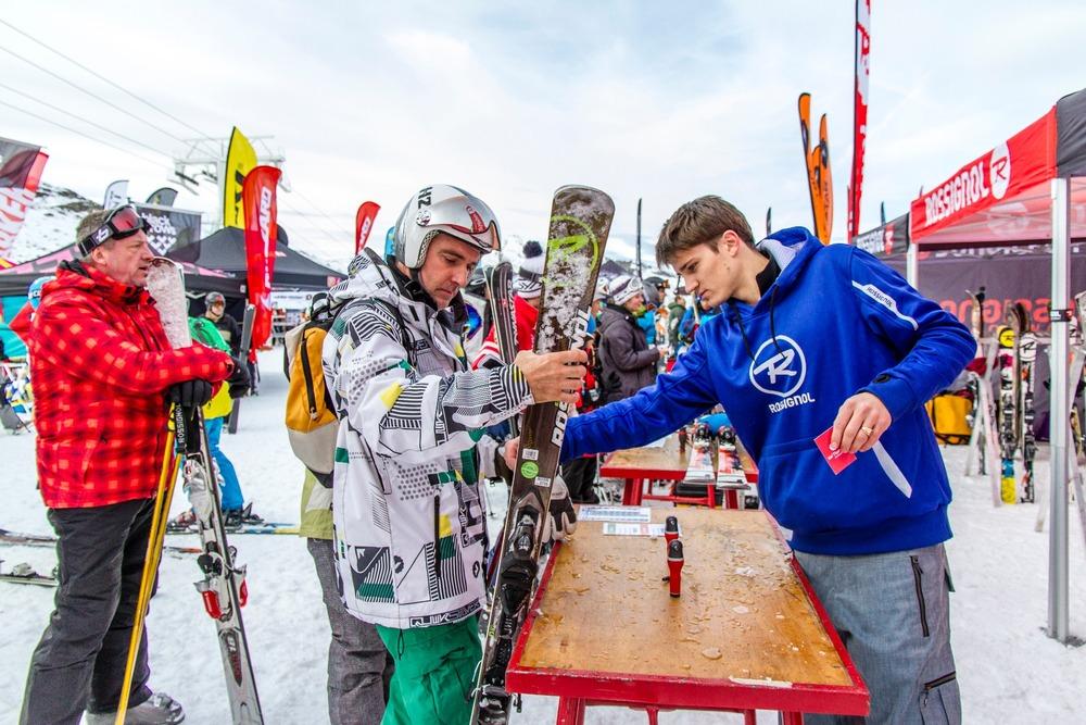 Val Thorens Ski Force Winter Tour 2012