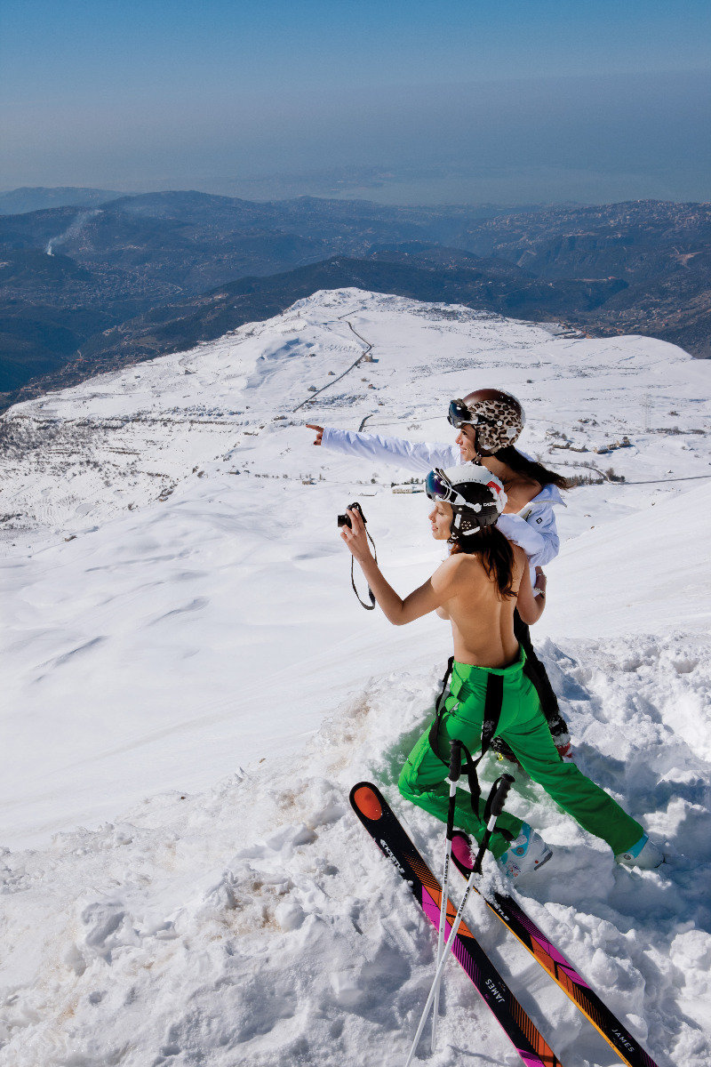 Ski Instructor Calendar 2013- Jackie Chamoun