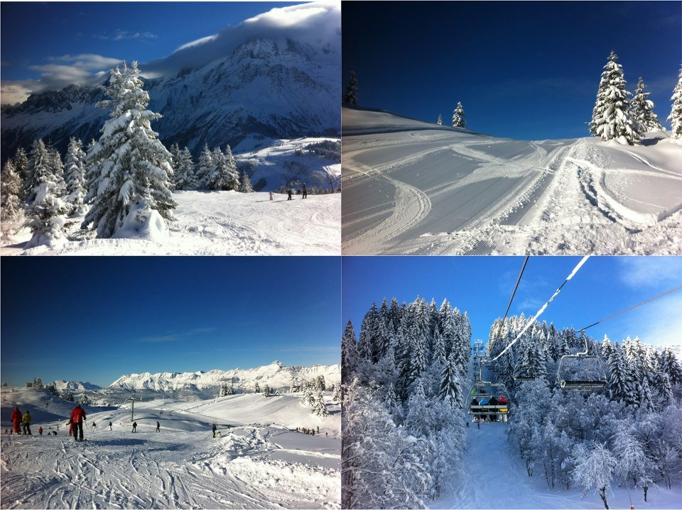 Chamonix opening weekend. Dec. 8