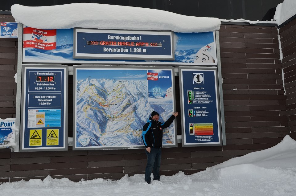 Saalbach-Hinterglemm is open. Dec. 7, 2012