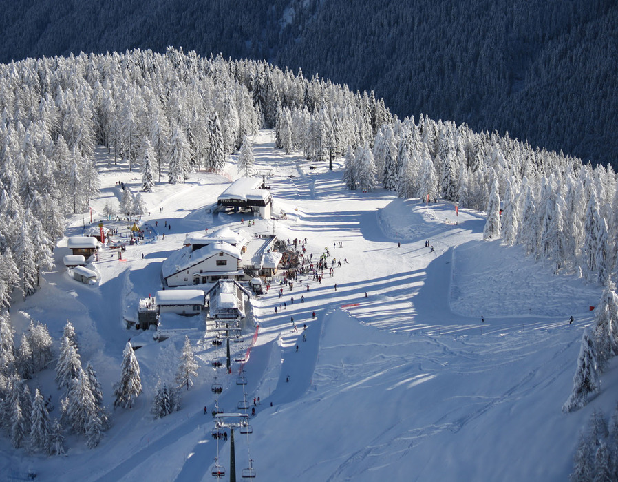 Fresh snow in Falcade, Dolomites. Dec. 8, 2012 - ©Consorzio turistico Belledolomiti