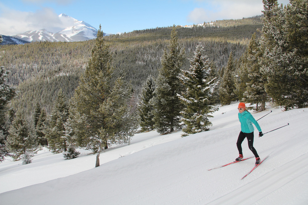 Lone Mountain Ranch has nearly 90 kilometers of groomed trails. Photo by Brian Schott, courtesy of Lone Mountain Ranch.