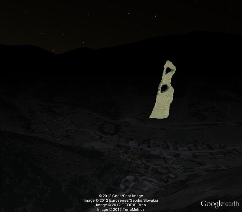 Vyšná Boca/Bačova Roveň - ©Google Earth