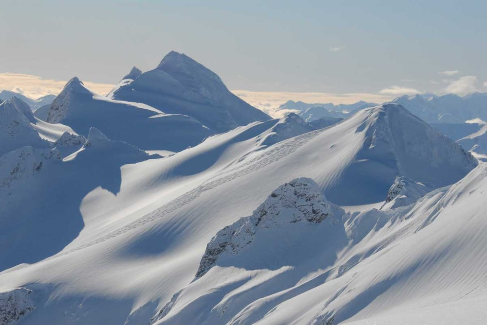 Expansive and amazing terrain with Northern Escape Heli-Skiing.