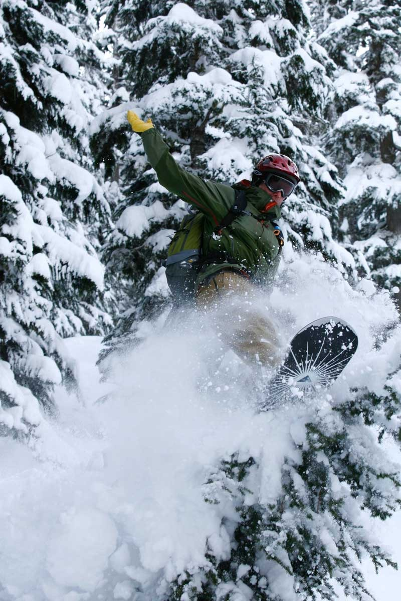 POW for everyone at Northern Escape Heli-Skiing.