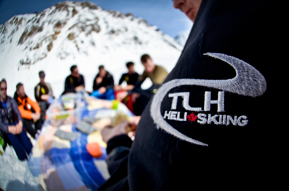 The TLH logo during lunch. - ©Randy Lincks/Andrew Doran